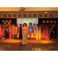 本会妇女组参与东北区马华妇女组旗袍比赛(2012年4月28日)